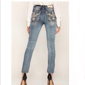 🆕 Miss Me Skinny Jeans E3268EBR Size 25